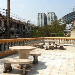 Отель Park Avenue At Huamark Бангкок балкон