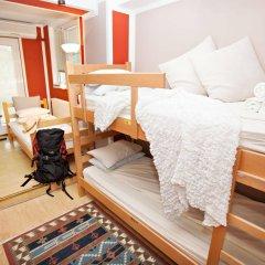 Отель Hostel Bed & Coffee 360° Сербия, Белград - 2 отзыва об отеле, цены и фото номеров - забронировать отель Hostel Bed & Coffee 360° онлайн комната для гостей фото 4