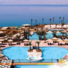 Отель Grand East Hotel Resort and Spa Иордания, Ма-Ин - отзывы, цены и фото номеров - забронировать отель Grand East Hotel Resort and Spa онлайн бассейн фото 2