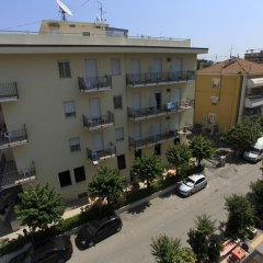 Отель Ben Hur Римини парковка