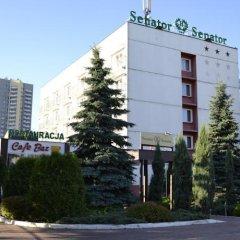 Отель Senator парковка