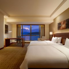 Отель Hyatt Regency Kinabalu Малайзия, Кота-Кинабалу - отзывы, цены и фото номеров - забронировать отель Hyatt Regency Kinabalu онлайн комната для гостей фото 3