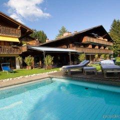 Отель Alpine Lodge Швейцария, Гштад - отзывы, цены и фото номеров - забронировать отель Alpine Lodge онлайн бассейн