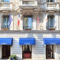 Отель Hôtel Le Grimaldi by Happyculture Франция, Ницца - 6 отзывов об отеле, цены и фото номеров - забронировать отель Hôtel Le Grimaldi by Happyculture онлайн бассейн фото 2