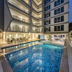 Отель Le Tada Residence Бангкок спортивное сооружение