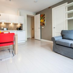 Отель Dapper Market Apartments Нидерланды, Амстердам - отзывы, цены и фото номеров - забронировать отель Dapper Market Apartments онлайн комната для гостей фото 4