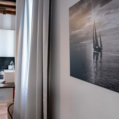 Апартаменты Habitat Apartments Beach Studio Барселона удобства в номере фото 2