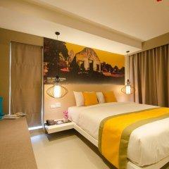 Отель Bizotel Bangkok Бангкок комната для гостей фото 5