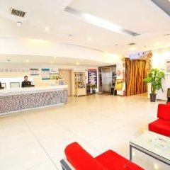Отель Jialili Hotel (Xi'an Software Park Gaoxin Hospital) Китай, Сиань - отзывы, цены и фото номеров - забронировать отель Jialili Hotel (Xi'an Software Park Gaoxin Hospital) онлайн интерьер отеля фото 3