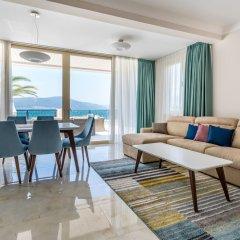 Отель Kaliman Villa Lux Черногория, Тиват - отзывы, цены и фото номеров - забронировать отель Kaliman Villa Lux онлайн комната для гостей фото 2
