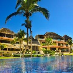 Отель Las Palmas Beachfront Villas Мексика, Коакоюл - отзывы, цены и фото номеров - забронировать отель Las Palmas Beachfront Villas онлайн приотельная территория фото 2