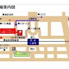 Отель Green Rich Nishitetsu Ohashi Ekimae Фукуока в номере