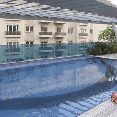 Апартаменты OYO 133 Home Studio Tecom Al Barsha бассейн фото 2