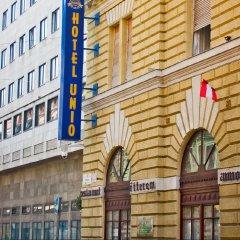 City Hotel Unio Будапешт вид на фасад фото 3