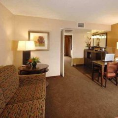 Embassy Suites Hotel Milpitas-Silicon Valley комната для гостей фото 4
