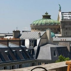 Отель Marriott Opera Ambassador Париж балкон