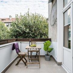 Апартаменты Sanhaus Apartments - Fiszera балкон