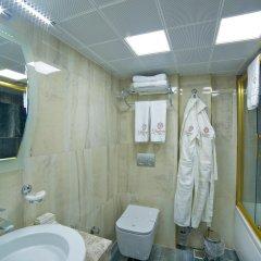 Glamour Hotel Турция, Стамбул - 4 отзыва об отеле, цены и фото номеров - забронировать отель Glamour Hotel онлайн ванная