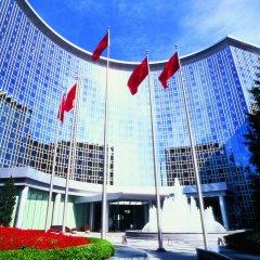 Отель Grand Hyatt Beijing вид на фасад