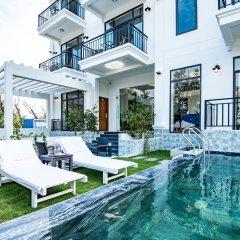 Отель Santa Villa Hoi An бассейн фото 2