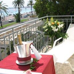 Отель West End Nice Франция, Ницца - 14 отзывов об отеле, цены и фото номеров - забронировать отель West End Nice онлайн балкон