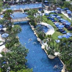 Отель Jomtien Palm Beach Hotel And Resort Таиланд, Паттайя - 10 отзывов об отеле, цены и фото номеров - забронировать отель Jomtien Palm Beach Hotel And Resort онлайн бассейн
