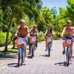 Отель The Reef Coco Beach Плая-дель-Кармен спортивное сооружение