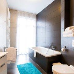 Отель Grand Central Apartments Бельгия, Брюссель - отзывы, цены и фото номеров - забронировать отель Grand Central Apartments онлайн ванная фото 2