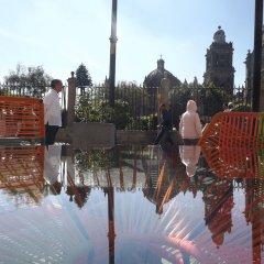 Отель Mexiqui Zocalo Мексика, Мехико - отзывы, цены и фото номеров - забронировать отель Mexiqui Zocalo онлайн приотельная территория фото 2