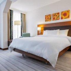 Отель Hilton Garden Inn Ufa Riverside Уфа комната для гостей фото 3