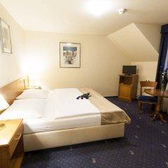 Отель Modra ruze Чехия, Прага - 10 отзывов об отеле, цены и фото номеров - забронировать отель Modra ruze онлайн комната для гостей фото 3