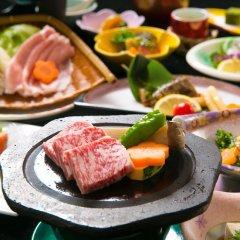 Отель Kinosato Yamanoyu Япония, Минамиогуни - отзывы, цены и фото номеров - забронировать отель Kinosato Yamanoyu онлайн питание фото 2