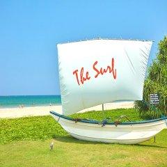 Отель The Surf Шри-Ланка, Бентота - 2 отзыва об отеле, цены и фото номеров - забронировать отель The Surf онлайн приотельная территория фото 2