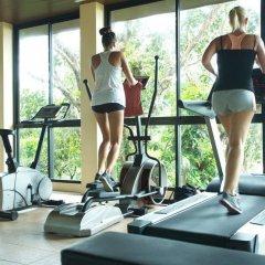 Отель Crown Lanta Resort & Spa Ланта фитнесс-зал