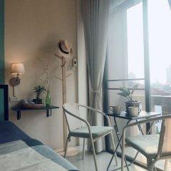 Отель Rama 9 Kamin Bird Hostel Таиланд, Бангкок - отзывы, цены и фото номеров - забронировать отель Rama 9 Kamin Bird Hostel онлайн балкон