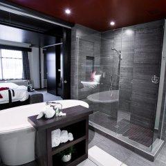 Отель Grand Times Hotel Quebec City Airport Канада, Л'Ансьен-Лорет - отзывы, цены и фото номеров - забронировать отель Grand Times Hotel Quebec City Airport онлайн ванная фото 2
