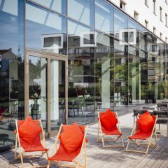 Отель Holiday Inn Munich - Westpark Мюнхен бассейн
