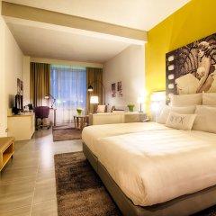 Отель NYX Hotel Milan by Leonardo Hotels Италия, Милан - 1 отзыв об отеле, цены и фото номеров - забронировать отель NYX Hotel Milan by Leonardo Hotels онлайн комната для гостей фото 4