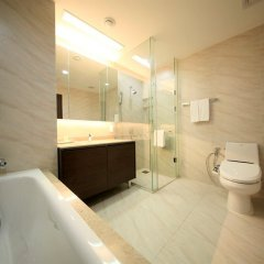Отель Orakai Insadong Suites Южная Корея, Сеул - отзывы, цены и фото номеров - забронировать отель Orakai Insadong Suites онлайн ванная