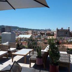 Отель Silken Ramblas балкон