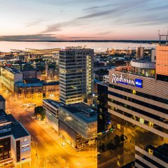 Radisson Blu Sky Hotel, Tallinn гостиничный бар