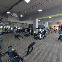 Отель Fortina Spa Resort Слима фитнесс-зал фото 2