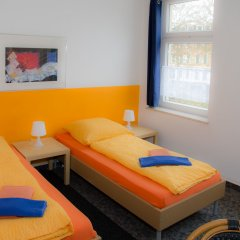 Гостевой Дом Pension Leipzig Georgplatz комната для гостей фото 2