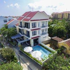 Отель Flamingo Villa Hoi An Вьетнам, Хойан - отзывы, цены и фото номеров - забронировать отель Flamingo Villa Hoi An онлайн балкон