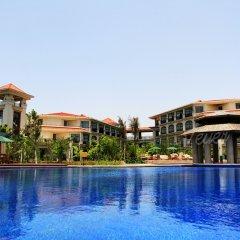 Отель Xiamen Jingmin North Bay Hotel Китай, Сямынь - отзывы, цены и фото номеров - забронировать отель Xiamen Jingmin North Bay Hotel онлайн бассейн фото 2