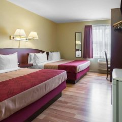 Отель Econo Lodge Montmorency Falls Канада, Буашатель - отзывы, цены и фото номеров - забронировать отель Econo Lodge Montmorency Falls онлайн комната для гостей фото 2