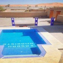 Отель Kasbah Tamariste Марокко, Мерзуга - отзывы, цены и фото номеров - забронировать отель Kasbah Tamariste онлайн бассейн фото 2