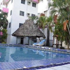 Отель Garden Suites Cancun Мексика, Канкун - отзывы, цены и фото номеров - забронировать отель Garden Suites Cancun онлайн бассейн