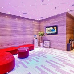 Отель Fuyi Fashion Hotel Китай, Сиань - отзывы, цены и фото номеров - забронировать отель Fuyi Fashion Hotel онлайн интерьер отеля