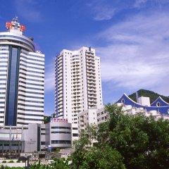 Отель Ming Wah International Convention Centre Шэньчжэнь приотельная территория